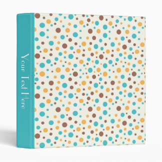 KRW Summer Breeze Dots Custom Text Album Binder* Binder