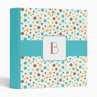 KRW Summer Breeze Dots Monogram Album Binder* Binder