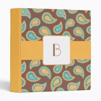 KRW Summer Breeze Paisley Monogram Album Binder* Binder