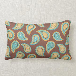 KRW Summer Breeze Paisley Print Pillow