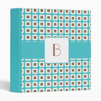 KRW Summer Breeze Squares Monogram Album Binder* Binder