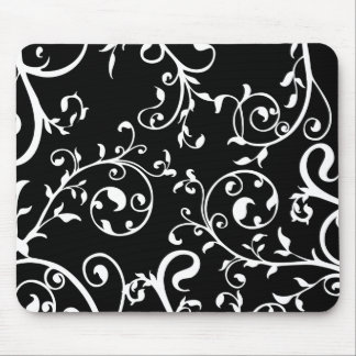 KRW Swirling Vines Mouse Mats