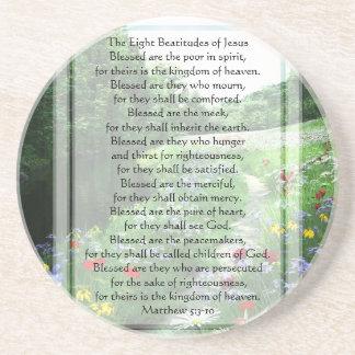 KRW The Eight Beatitudes of Jesus Coaster