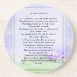 KRW The Lord is My Shepherd Psalm 23 Coasters