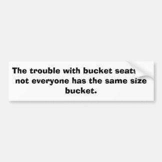 KRW The Trouble Bumper Sticker