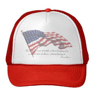KRW Thomas Jefferson Quote Mesh Hat