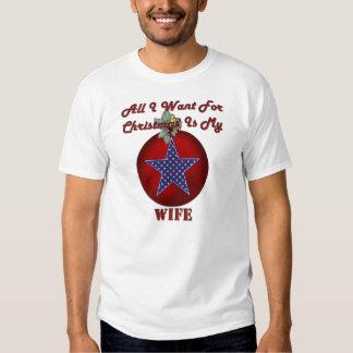 KRW todo lo que quiero para la camisa militar del