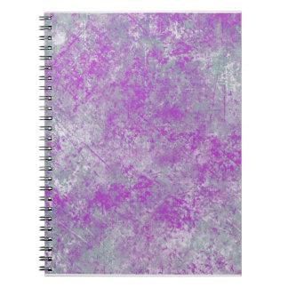KRW Urban Spatter in Gray Violet Notebook
