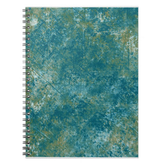 KRW Urban Spatter in Ocean Blue Notebook