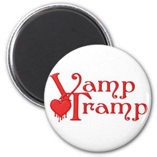 KRW Vamp Tramp Blood Dripping Heart Fridge Magnet