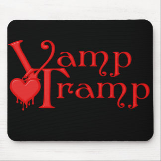 KRW Vamp Tramp Blood Dripping Heart Mouse Pad