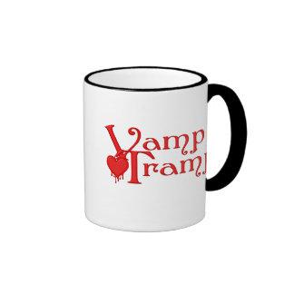 KRW Vamp Tramp Blood Dripping Heart Ringer Mug