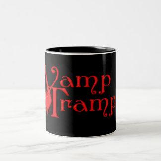 KRW Vamp Tramp Blood Dripping Heart Two-Tone Coffee Mug