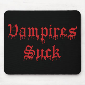 KRW Vampires Suck Dripping Blood Mouse Pad