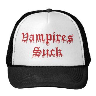 KRW Vampires Suck Dripping Blood Trucker Hat