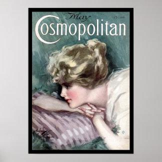 KRW Vintage 1915 Cosmopolitan Magazine Cover Print
