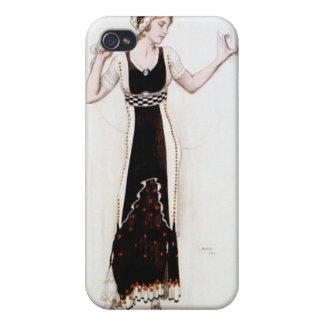 KRW Vintage Bakst 1912 Fashion  iPhone 4/4S Covers