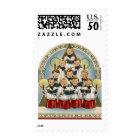 KRW Vintage Choir Holiday Stamp