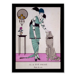 KRW Vintage Gazette du Bon Ton 1914 Fashion Print
