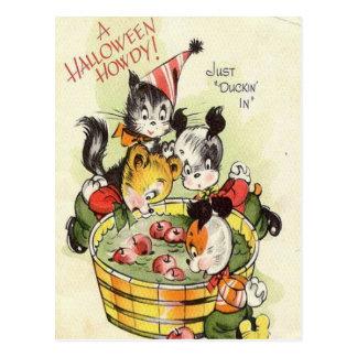 KRW Vintage Halloween Howdy Cute Card