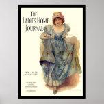 KRW Vintage Ladies Home Journal 1915 Magazine Poster