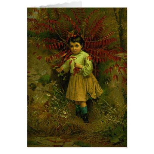 KRW Vintage Little Bo Peep 1867 Card