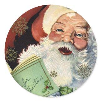 KRW Vintage Santa Claus Christmas Sticker sticker
