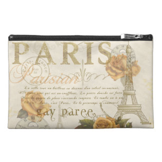 KRW Vintage Style Paris Rose Eiffel Tower Bag