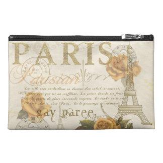 KRW Vintage Style Paris Rose Eiffel Tower Bag Travel Accessories Bags
