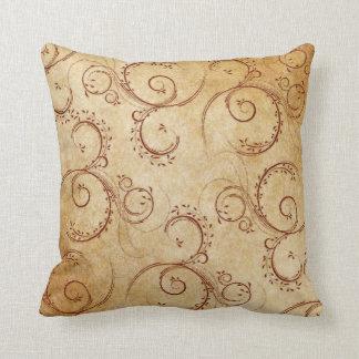 KRW Vintage Swirl Decor Pillow