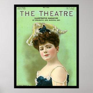 KRW Vintage Theatre 1906 Magazine Cover Print
