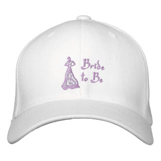 KRW Violet Bride to Be Embroidered Baseball Hat