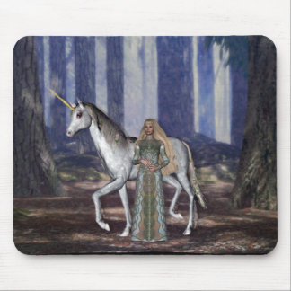 KRW Virgin and the Unicorn Mouse Pad