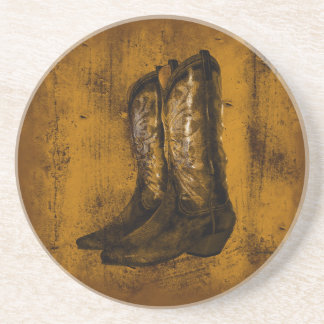 KRW Western Wear Cowboy Boots Coaster
