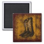 KRW Western Wear Cowboy Boots Fridge Magnet