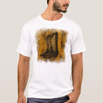 KRW Western Wear Cowboy Boots T-Shirt