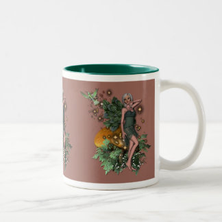 KRW Woodland Sprite Two-Tone Coffee Mug