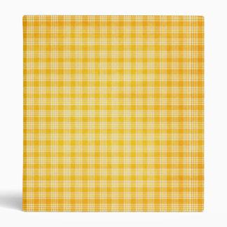 KRW Yellow Check Binder