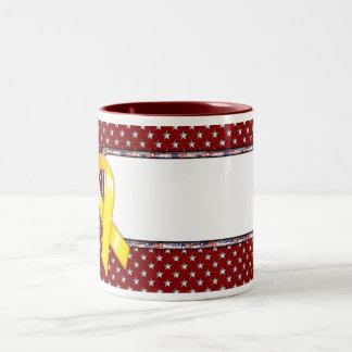KRW Yellow Ribbon Mug