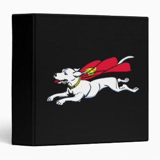 Krypto the dog 3 ring binder