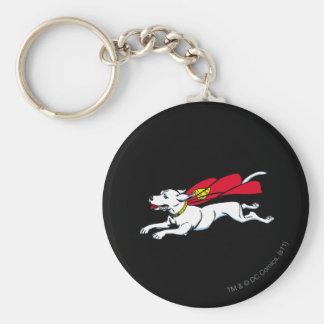 Krypto the dog keychain