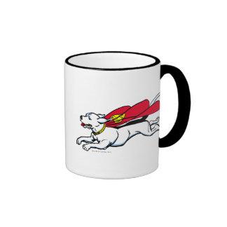 Krypto the dog ringer mug