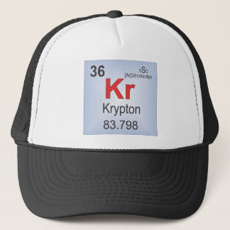 Krypton Individual Element of the Periodic Table Trucker Hat