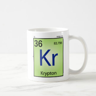 Krypton (Kr) Element Mug