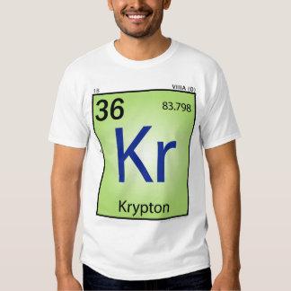 Krypton (Kr) Element T-Shirt - Front Only