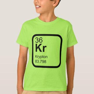 Krypton - Periodic Table science design T-Shirt