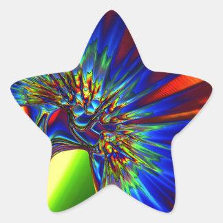 Kryptonite Star Sticker