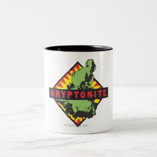 Kryptonite Taza De Café De Dos Colores