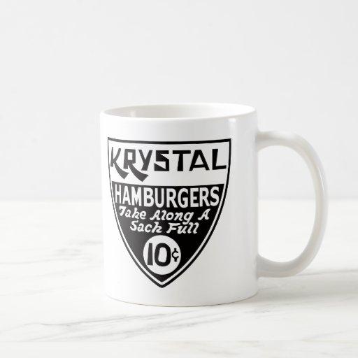 Krystal 10 Cent Shield Mug