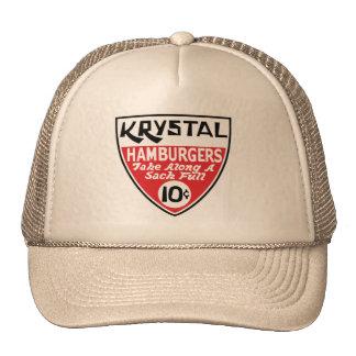 Krystal 10 Cent Shield Trucker Hat